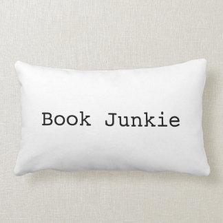 Almohada decorativa del drogadicto del libro
