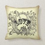 almohada decorativa del vintage del victorian