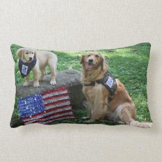 Almohada del acebo y del perrito