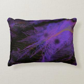 Almohada del acento con el arte púrpura de cojín decorativo