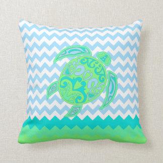Almohada del acento de la tortuga del océano de la