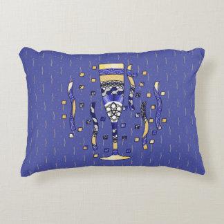 Almohada del acento de la tostada del Año Nuevo Cojín Decorativo