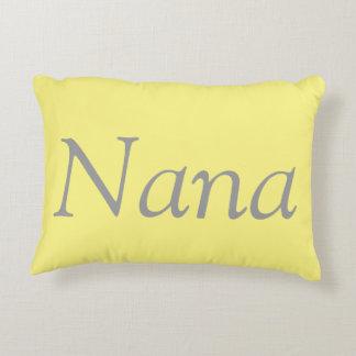 Almohada del acento de Nana