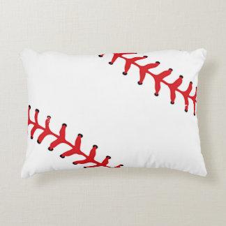 Almohada del acento del diseño del softball del cojín decorativo
