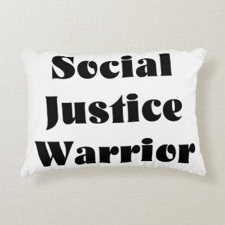 Almohada del acento del guerrero de la justicia