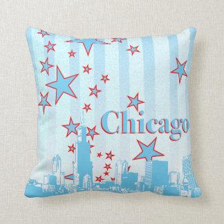 Almohada del acento del horizonte de Chicago