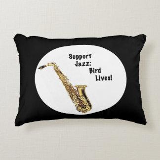 Almohada del acento del jazz de la ayuda cojín decorativo