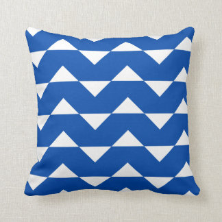 Almohada del acento del modelo de Sparre del azul