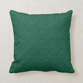 Almohada del acento del verde esmeralda