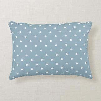 Almohada del acento - lunar del azul de Aquamarine