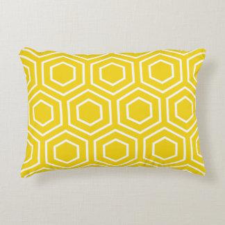 Almohada del acento - modelo amarillo limón del cojín