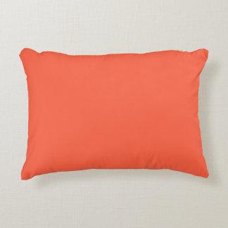 Almohada del acento por Janz en rojo del tomate Cojín Decorativo
