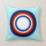 Almohada del adorno del círculo