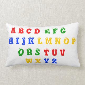 Almohada del alfabeto y de los números 1-10