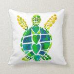 Almohada del amor de la tortuga