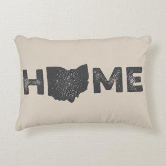 Almohada del amor del estado de origen de Ohio Cojín