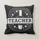 Almohada del aprecio del profesor #1