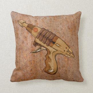 Almohada del arma del moho y de rayo cojín decorativo