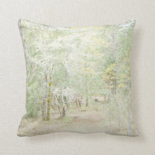 Almohada del arte del bosque