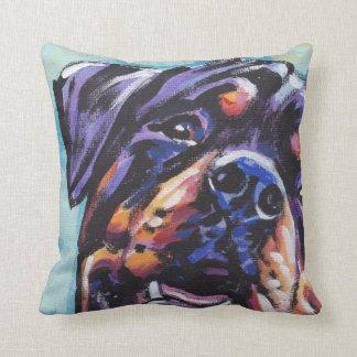Almohada del arte pop de Rottweiler