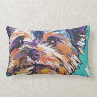 Almohada del arte pop de Yorkshire Terrier