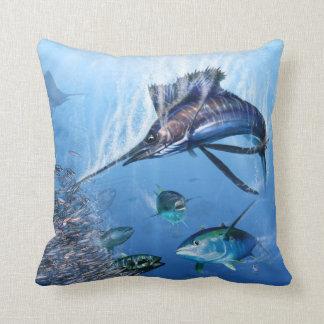 Almohada del ataque del pez volador
