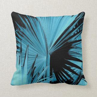 Almohada del azul de la palma de Bismarck