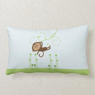Almohada del bebé del mono