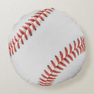 Almohada del béisbol cojín redondo