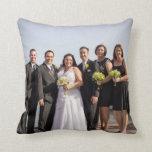 Almohada del boda de Ana y de Michael