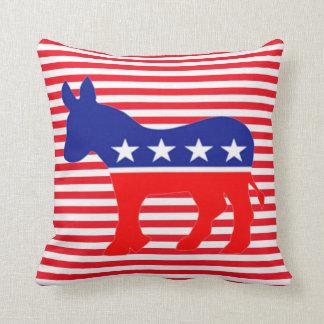almohada del burro del demócrata cojín decorativo