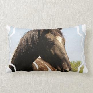 Almohada del caballo de proyecto del condado