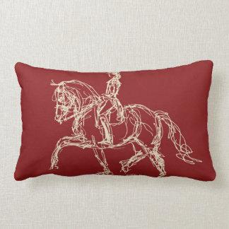 Almohada del caballo del Dressage
