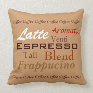 Almohada del café