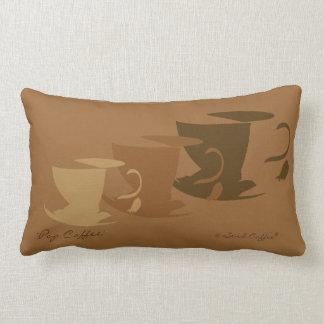 Almohada del café del estallido - pequeña