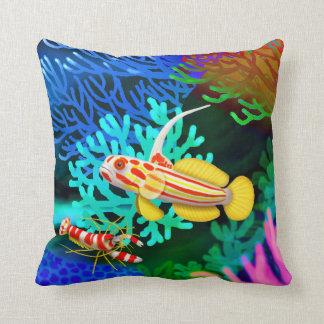 Almohada del camarón del gobio de Yasha Hase y de