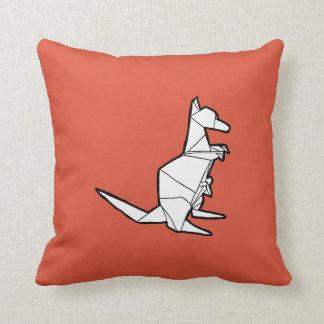 Almohada del canguro de Origami