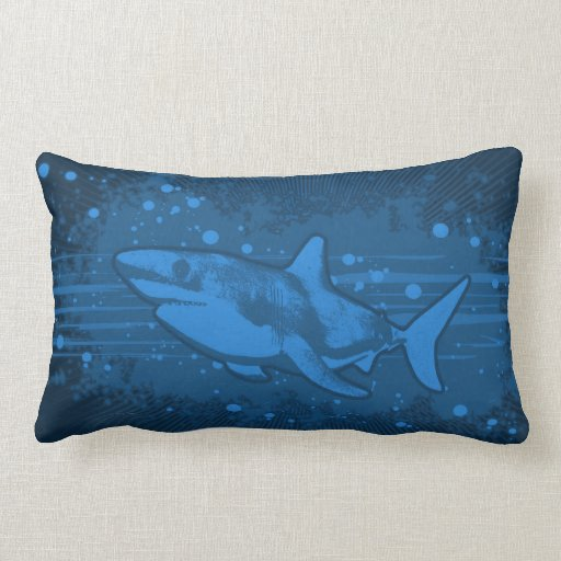 Almohada del chapoteo del tiburón