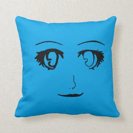 Almohada del chica del animado