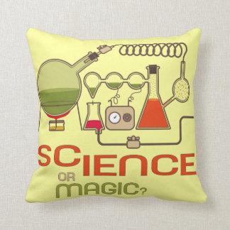 Almohada del científico de la ciencia o de la