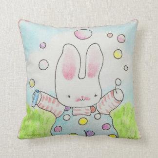 almohada del conejito de la burbuja