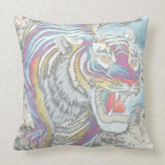 Almohada del cuadrado del tigre del fantasma
