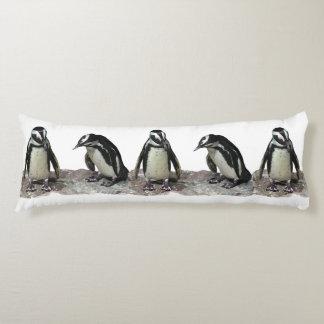 Almohada del cuerpo de los pingüinos cojin cama