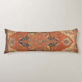 Almohada del cuerpo del paseo de la alfombra de