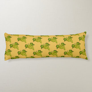 Almohada del cuerpo del racimo de la uva cojin cama