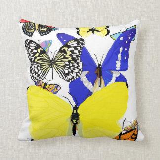 Almohada del desfile de la mariposa