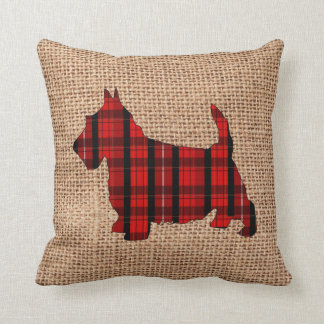 Almohada del día de fiesta de Terrier del escocés