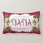 Almohada del día de madre de Nana