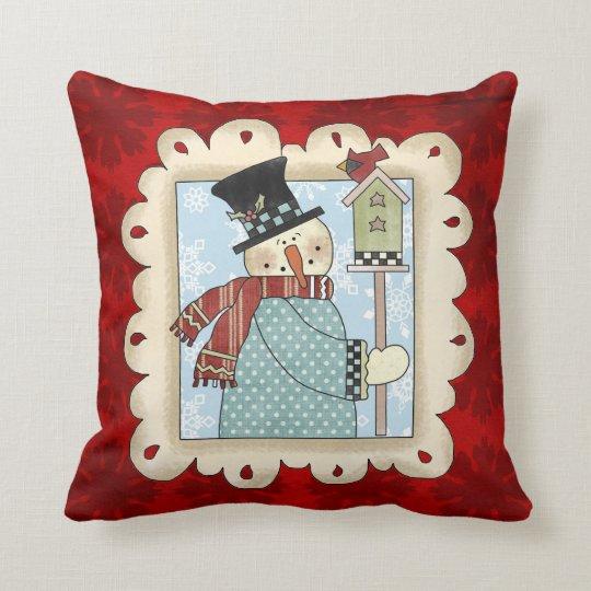 Almohada del dibujo animado del día de fiesta del cojín decorativo