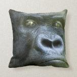 Almohada del diseñador del arte del gorila del Sil